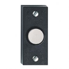 Friedland D824 Dimex Black Door Bell Push Press Switch Button